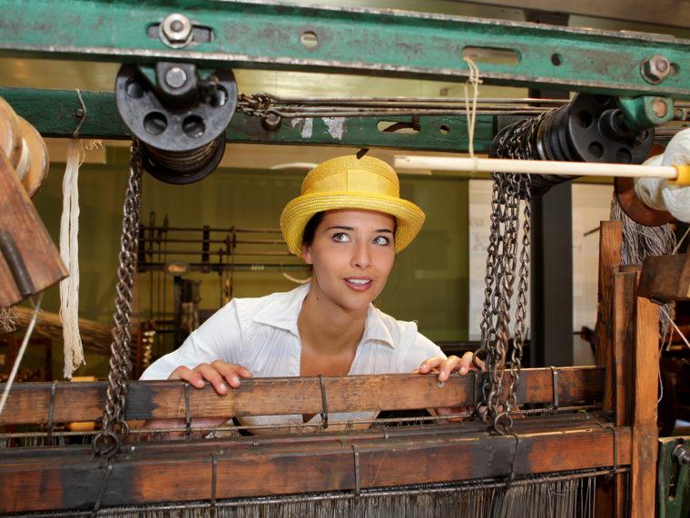 Karina im Teppichmuseum Oelsnitz/Vogtl.