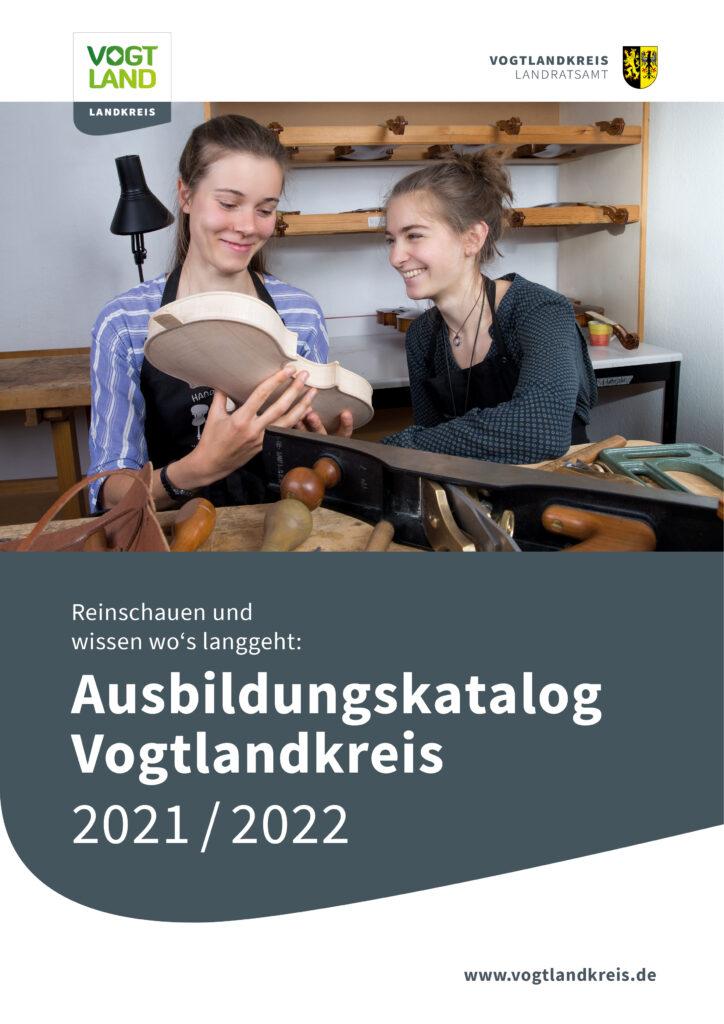 Titelseites Ausbildungskatalog